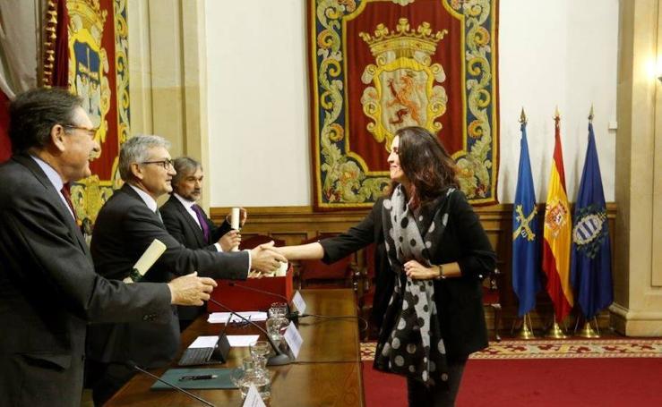 La Universidad de Oviedo y el Banco Santander amplían su convenio de colaboración