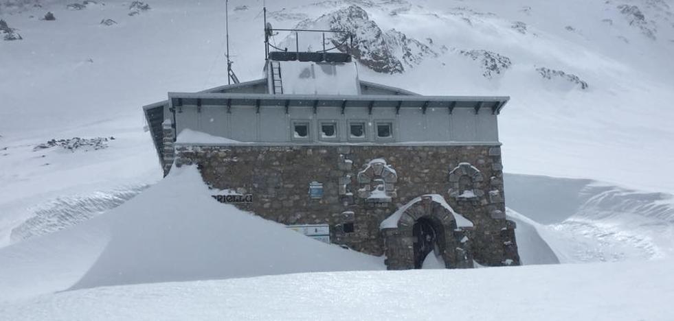 Alerta roja por un nuevo temporal de nieve en las zonas de montaña