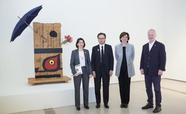 Miró, en el Botín