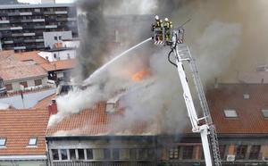La jueza atribuye la muerte del bombero Eloy Palacio a su «imprudencia temeraria»