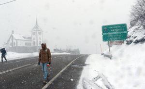 La ola de frío que llega con la primavera dejará la mayor parte de Asturias bajo cero
