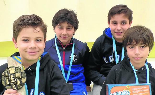 École gana el Escolar en categoría sub 12