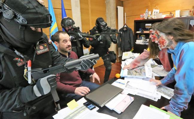 La Pola acogerá el sábado una noche de terror zombi con 300 participantes