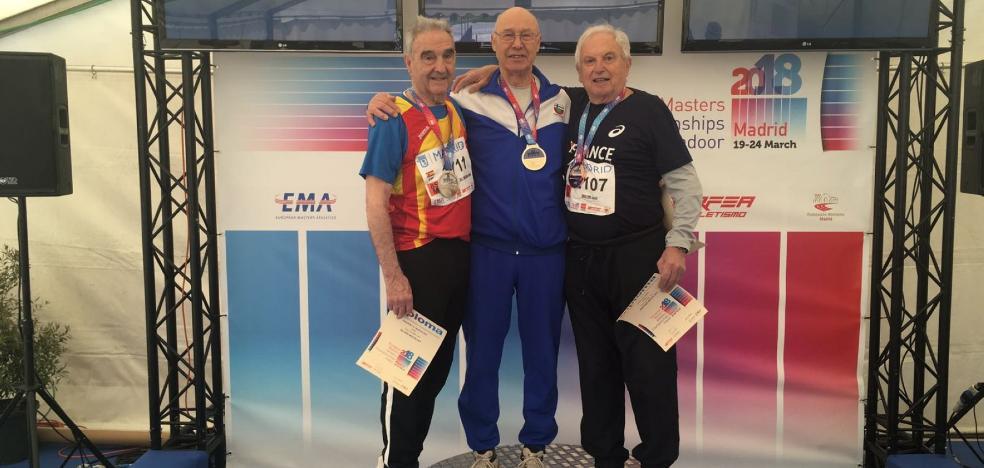 Campanal logra su primera medalla en un europeo
