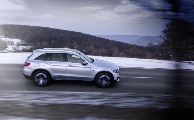 Mercedes GLC F-Cell, la pila de combustible más cerca