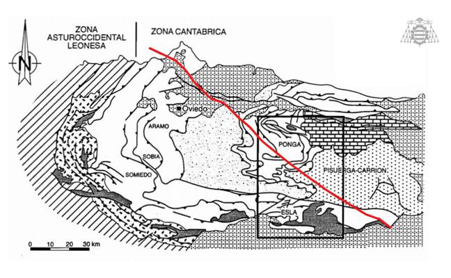La falla de Ventaniella, que divide Asturias, causó 45 microterremotos bajo la cordillera en dos años