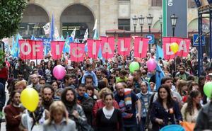 Convocan una manifestación por la oficialidad del asturiano para el 21 de abril en Oviedo