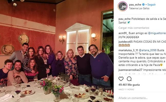 Paula Echevarría y Miguel Torres hacen oficial su relación