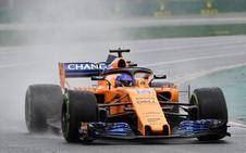 Fernando Alonso, undécimo en la Q2: «Como punto de partida es estupendo»