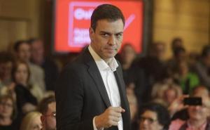 Pedro Sánchez: «Adrián Barbón es mi candidato»