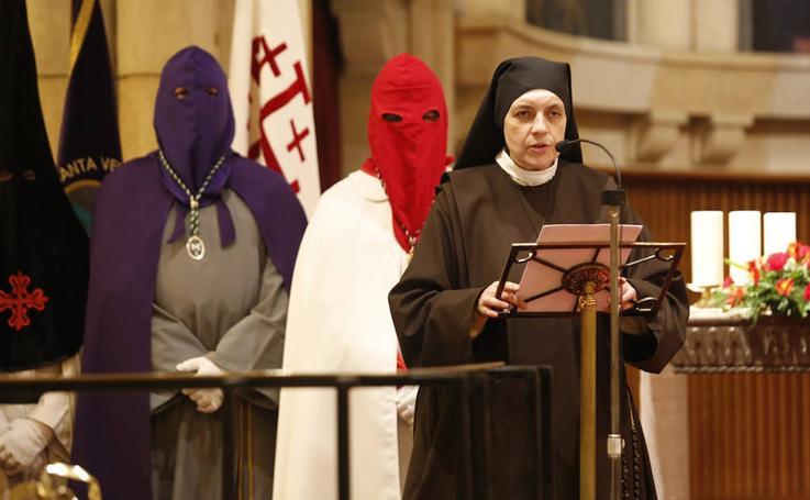 Emotivo pregón de la Semana Santa en Gijón