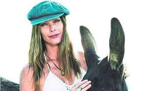 Cristina Piaget, una top que quiere ser asnoterapeuta