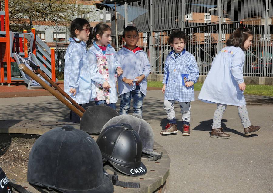 Jornadas culturales en el colegio El Llano de Gijón