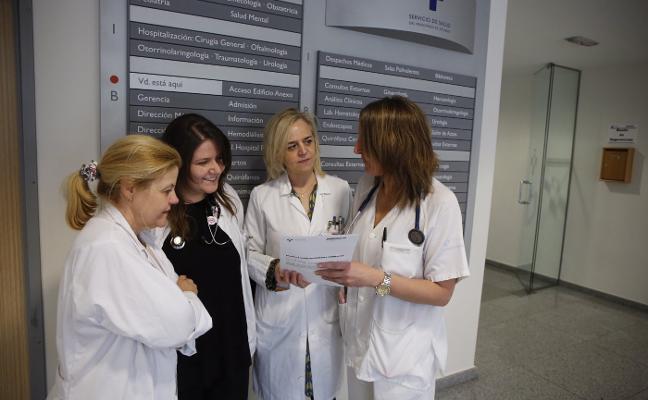El Hospital Valle del Nalón, un referente para los residentes de médico de familia