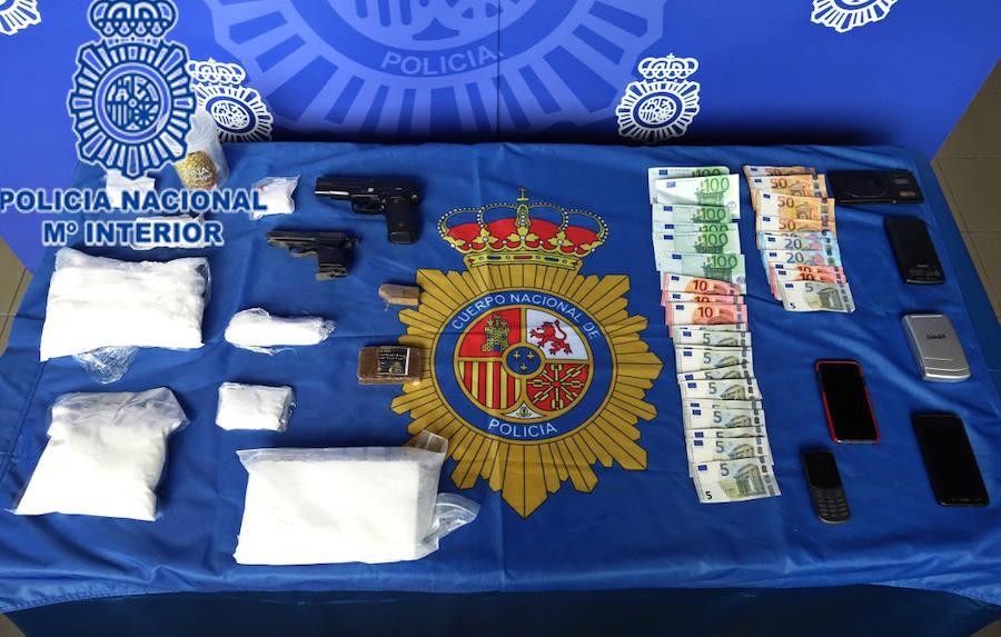 Detenidas 10 personas en Asturias y Galicia de una organización criminal dedicada al tráfico de cocaína