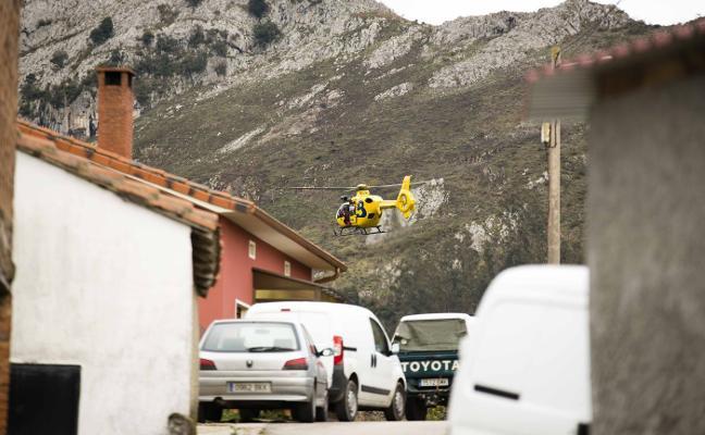 Un operativo de 80 personas reanuda la búsqueda del anciano desaparecido en Llanes