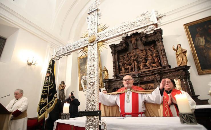 Procesión de La Madrugá de Oviedo, no pudo salir de la capilla