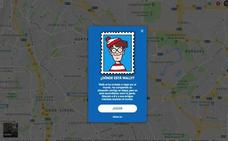 Wally se esconde en Google Maps