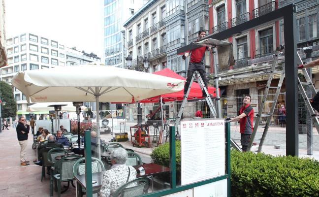 La Mallorquina renueva su terraza para cumplir con la normativa municipal