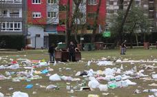 La Comida en la Calle genera casi siete toneladas más de basura que un lunes cualquiera