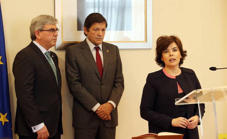 Mariano Marín toma posesión como Delegado de Gobierno en Asturias