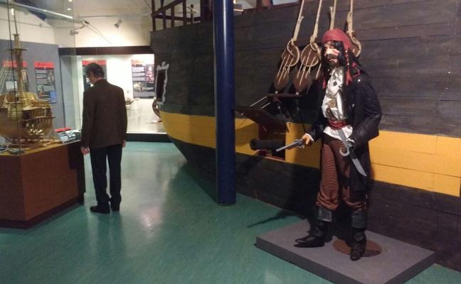 El Marítimo prepara una exposición sobre la historia de los corsarios y los piratas