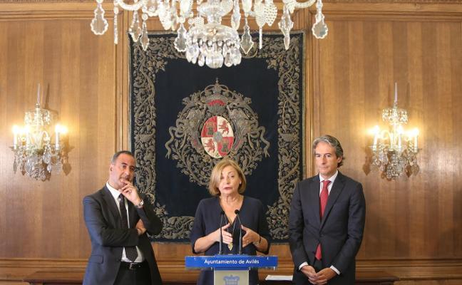 La alcaldesa reclama al Gobierno central una inversión en Maqua y el Centro Niemeyer