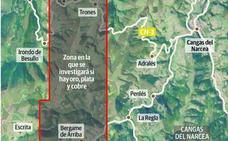 Orovalle buscará oro, plata y cobre en Cangas del Narcea y Allande