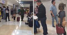 En tanga por un aeropuerto de México 'como Pedro por su casa'