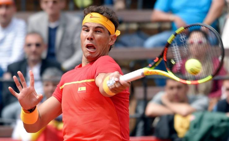 Rafa Nadal-Philipp Kohlschreiber, en imágenes