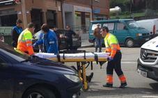 Dos motoristas heridos en la calle del Carmen y en Gutiérrez Herrero
