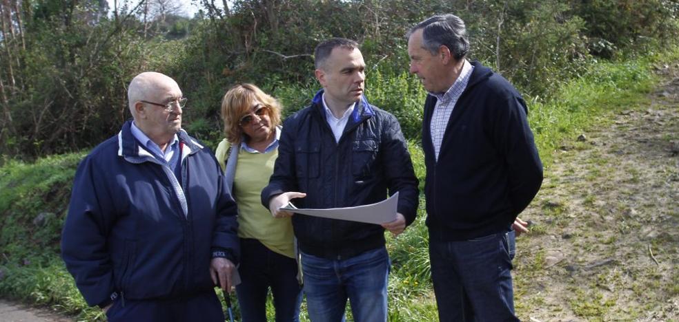 El camino que conduce a la cascada de El Escañorio será rehabilitado