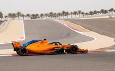 Ricciardo el más rápido, Sainz octavo y Alonso undécimo en el primer libre