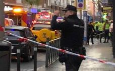 Muere un hombre tras recibir un tiro en la cabeza en pleno centro de Madrid
