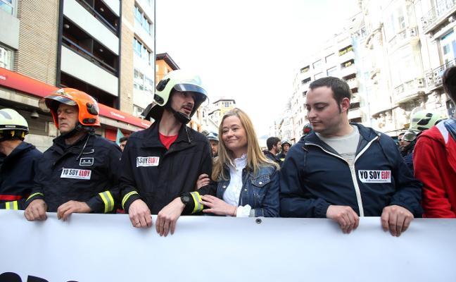 La viuda de Eloy Palacio lamenta la actitud «hipócrita» del equipo de gobierno de Oviedo