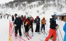 Las estaciones de esquí asturianas cierran la temporada con un 52% más de afluencia