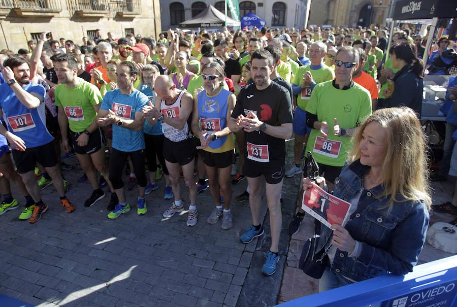 600 personas participan en el II Memorial Eloy Palacio en Oviedo