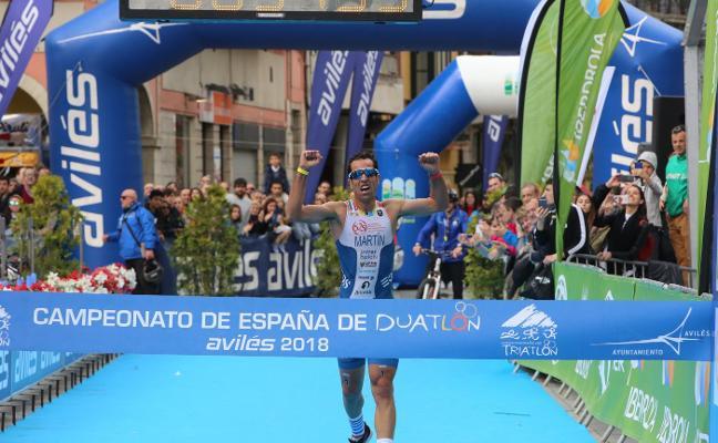Emilio Martín y Camila Alonso dominan en Avilés y se coronan campeones absolutos