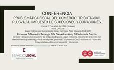 Conferencia sobre problemática fiscal del comercio