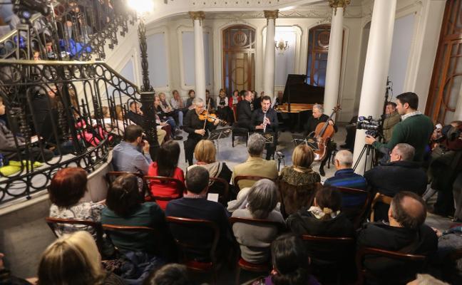Virtus Quartet actúa en el Conservatorio