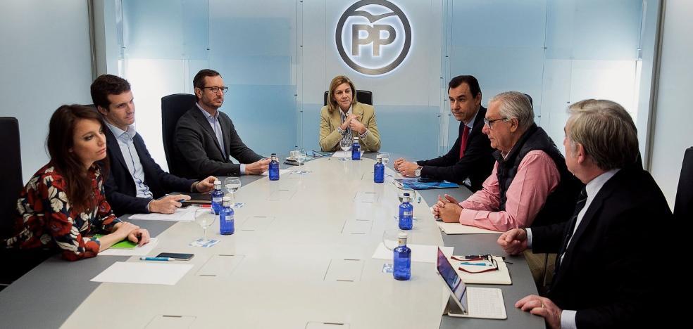 Caunedo no será el candidato del PP en Oviedo y el partido le cita en Madrid