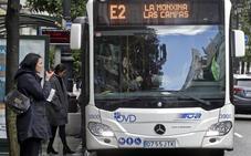 La línea de Llubrió al centro cuesta 7,4 euros por viajero y mueve siete usuarios por ruta