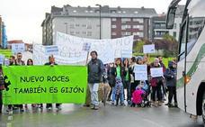 Educación se compromete a promover un colegio en Nuevo Roces