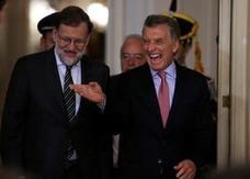 La genial respuesta de Rajoy a la broma de Macri sobre el amistoso entre España y Argentina