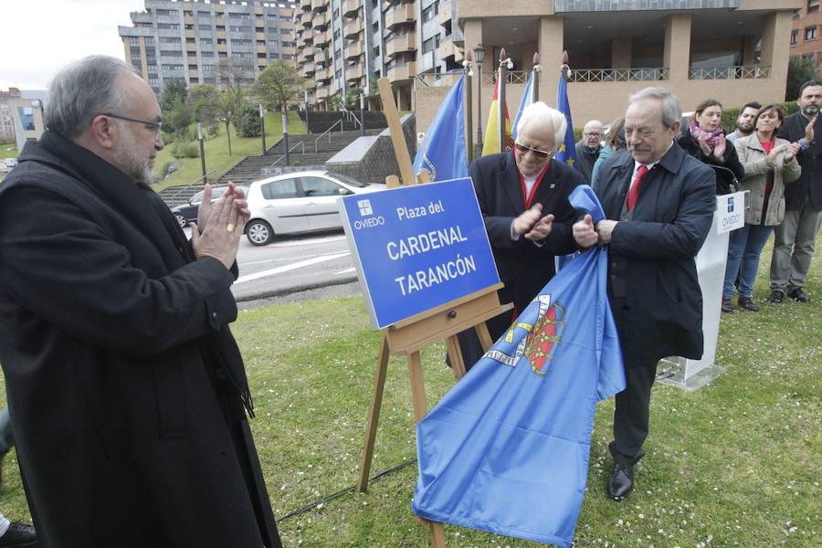 Oviedo incorpora a su callejero al Cardenal Tarancón