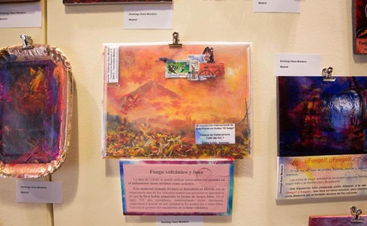 Exposición de arte postal