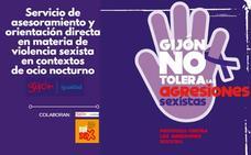 Servicio de asesoramiento y orientación en materia de violencia sexista en contextos de ocio nocturno