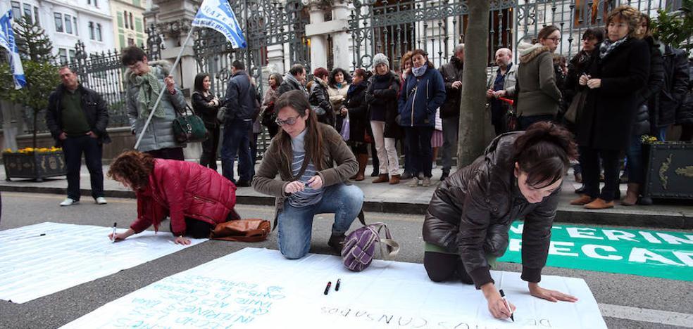 Suatea convoca a los docentes interinos a la huelga el día 24