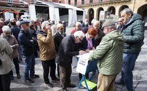 Los jubilados asturianos volverán a exigir futuro para las pensiones el domingo en Gijón