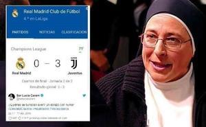 Un tuit antimadridista se vuelve en contra de sor Lucía Caram